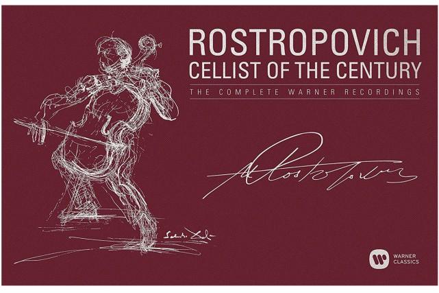 Cellist of the Century... (Image fournie par Warner Classics)