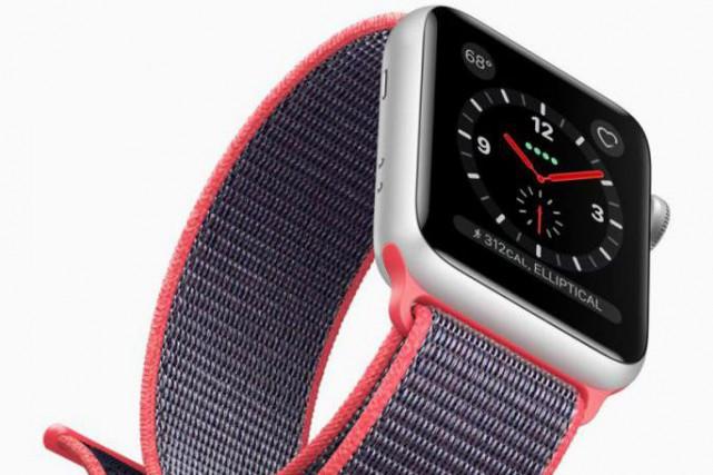 La montre Apple Watch Series 3... (photo fournie par le fabricant)