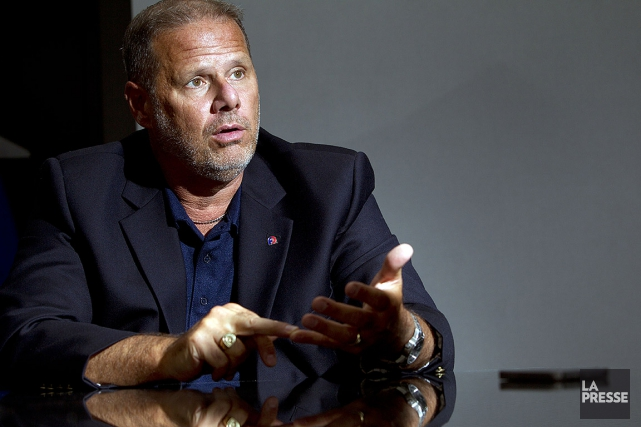 Yves Francoeur, président de la Fraternité des policiers... (Olivier Jean, archives La Presse)