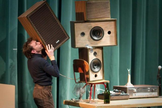 Patrick Léonard a créé Patinoire en 2011. Il... (Photo Olivier PontBriand, La Presse)