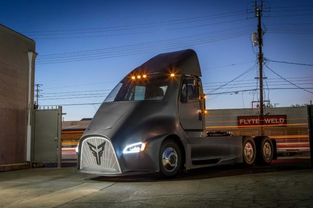 Thor Trucks, une petite start-up de Los Angeles, promet de devancer Tesla et de... (Photo: Thor Trucks)