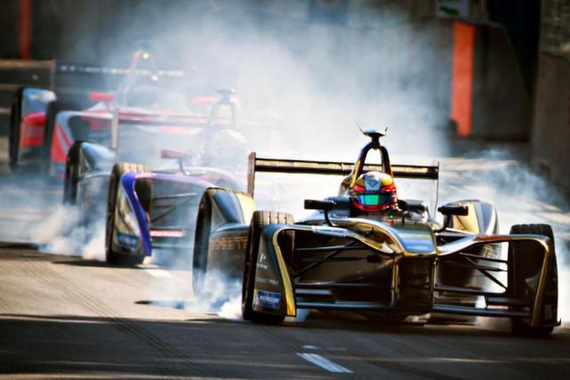 Les voitures de la Formule E ne rouleront... (Photo Olivier Jean, Archives La Presse)