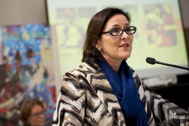 La présidente de la Fédération des médecins spécialistes... (Photo Sarah Mongeau-Birkett, archives La Presse)