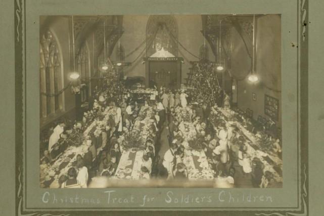 De nombreuses associations bénévoles d'entraide ont été créées... (Photo Musée du Nouveau Brunswick)