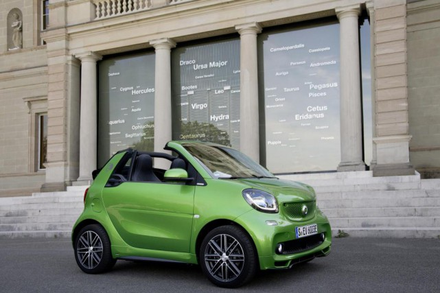 La Smart Fortwo ED. La décision d'offrir la... (Photo : Daimler)
