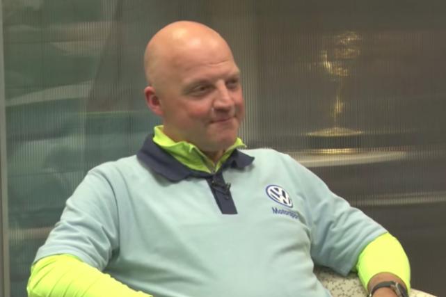 Olivier Schmidt, à une époque plus heureuse.... (Photo : saisie d'écran YouTube/Autoline Network)