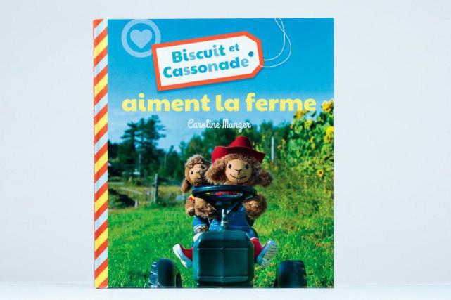 Biscuit et Cassonade aiment la ferme, texte et... (Photo Hugo-Sébastien Aubert, La Presse)