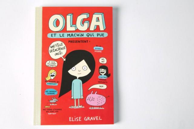 Olga et le machin qui pue, Elise Gravel,... (Photo François Roy, La Presse)