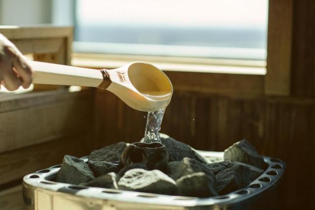 Le SkySpa propose des séances de sauna Aufguss,... (Photo fournie par SkySpa)