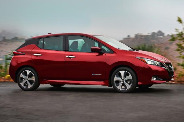 La Leaf 2018.... (Photo : Nissan)