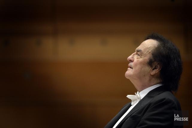 Le chef d'orchestre Charles Dutoit a dit qu'il... (Photo Bernard Brault, archives La Presse)