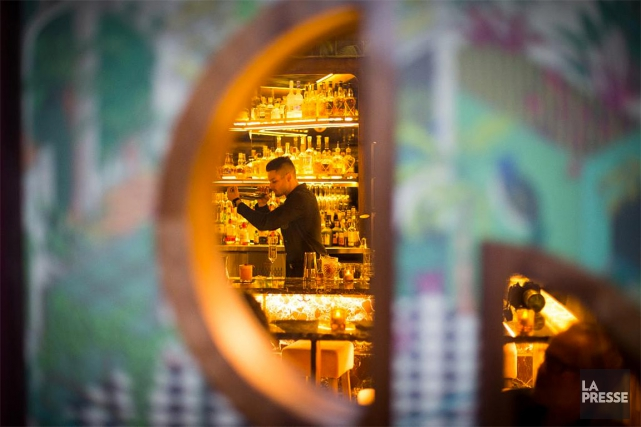 Le Royal, speakeasy du bar à vin Rouge... (Olivier Jean, archives La Presse)