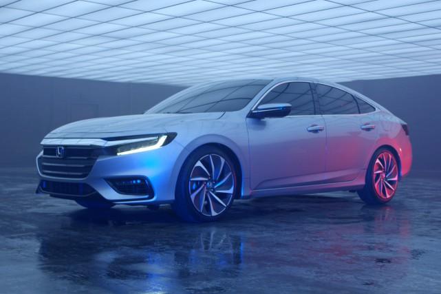 Le prototype de la nouvelle Honda Insight... (PHOTO FOURNIE PAR LE CONSTRUCTEUR)