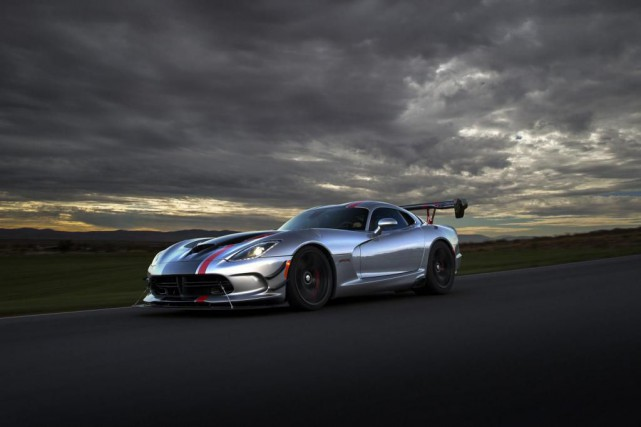 La Dodge Viper ACR 2017... (Photo fournie par le constructeur)