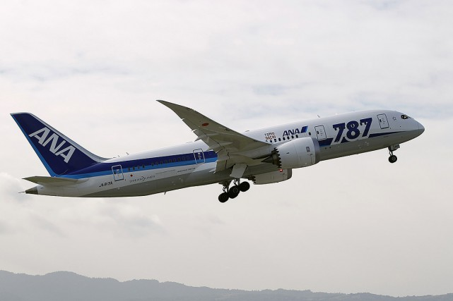 Sur cette photo, un avion All Nippon Airways... (Robert Galbraith, archives REUTERS)