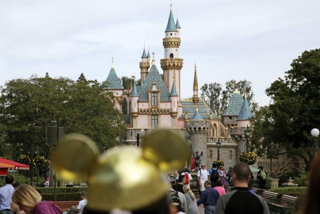 En cette période de Noël,Disneyland atteint presque sa... (ARCHIVES AP)