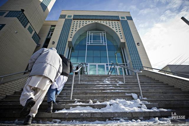 Le Centre culturel islamique de Québec a été... (PHOTO PATRICK SANFAÇON, ARCHIVES LA PRESSE)