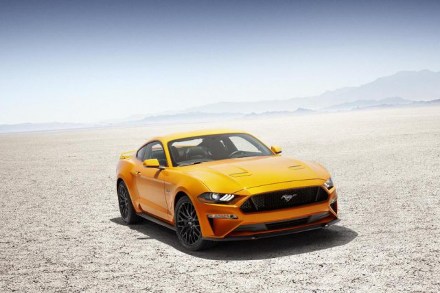 La Ford Mustang GT 2018... (photo fournie par Ford)