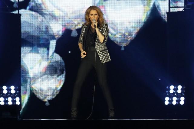 La tournée européenne de Céline Dion et sa... (PHOTO VALERY HACHÉ, ARCHIVES AFP)