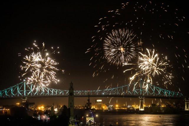 Les festivités du 375e anniversaire de Montréal se... (Photo Olivier PontBriand, Archives La Presse)