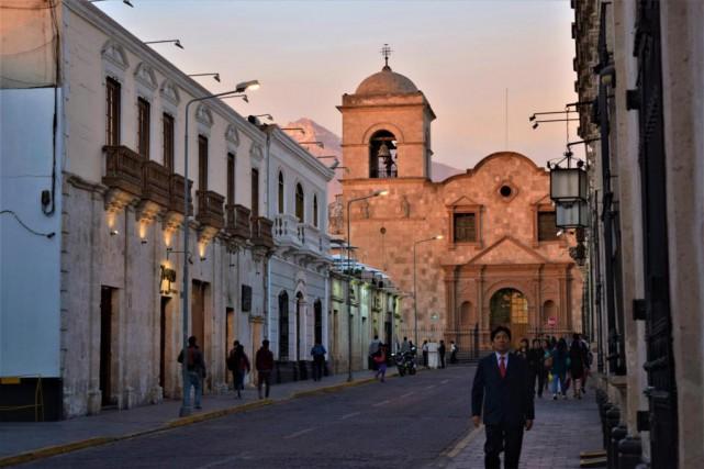 Arequipa est l'une de ces destinations qui séduisent... (Photo David Riendeau, collaboration spéciale)