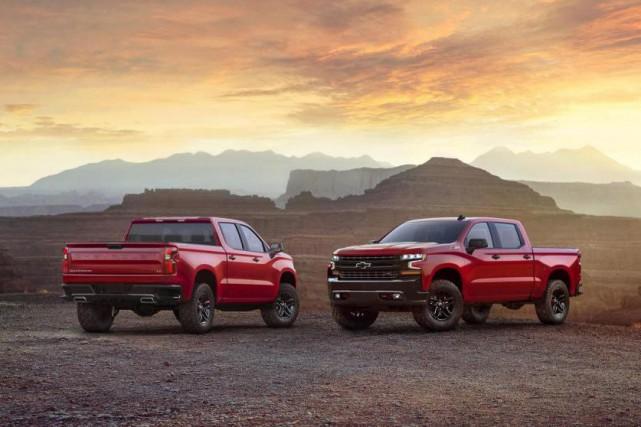 Le Chevrolet Silverado 2019... (photo fournie par GM)