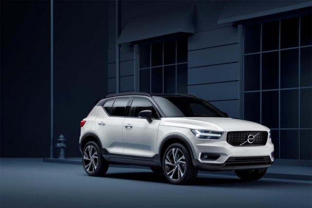 Le Volvo XC40 2018... (photo fournie par volvo)
