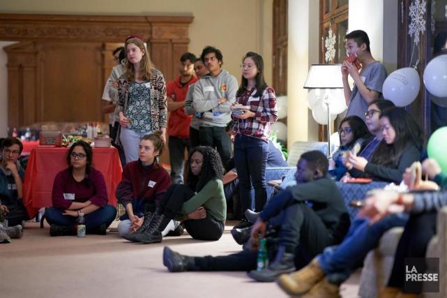 En 2016, le Québec accueillait 38 000 étudiants... (photo andré pichette, la presse)