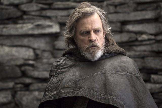 Mark Hamill, Luke Skywalker, dans Star Wars: Les... (John Wilson, Lucasfilm via AP)