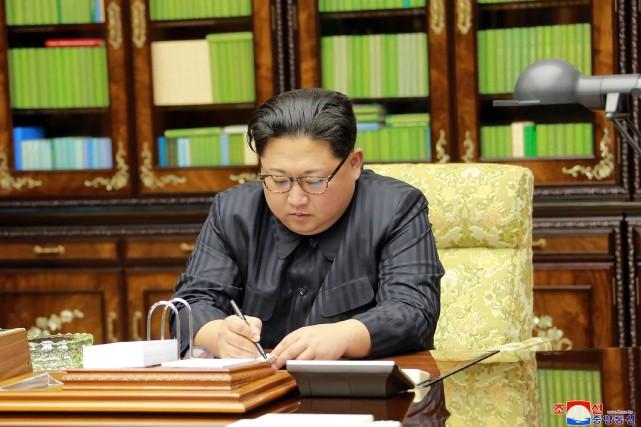 Voeux De Kim Jong Un Le Bouton Nucl Aire Est Toujours