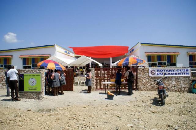 Situé à Génipailler, une petite ville de 8500... (Photo fournie par le Groupe de réflexion et d'action pour une Haïti nouvelle)