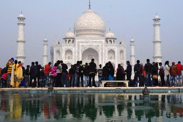 La démocratisation du tourisme à l'intérieur de l'Inde... (DOMINIQUE FAGET, AFP)