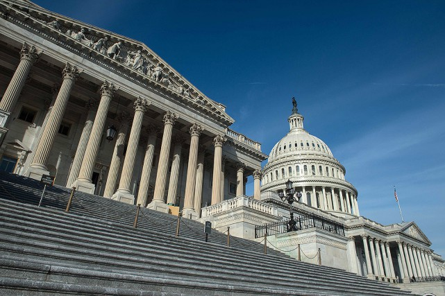 Le Congrès américain à Washington.... (NICHOLAS KAMM, AFP)