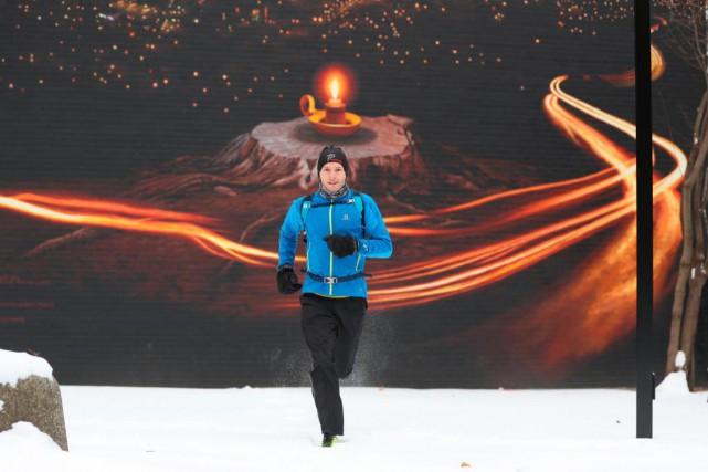 Mathieu Gagnon court tous les matins pour se... (Photo Martin Chamberland, La Presse)