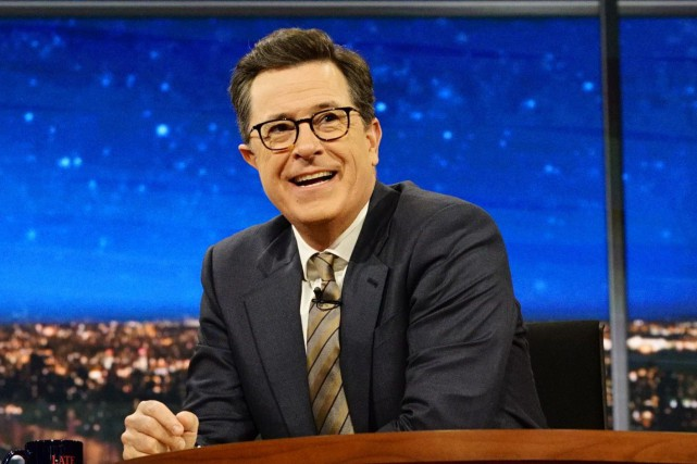 Stephen Colbert... (Photo AP)