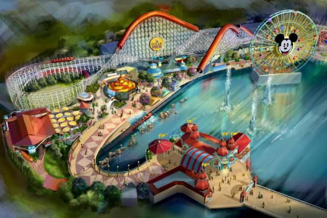 À l'été 2018, le parc California Adventure inaugurera... (Image fournie par Disney)