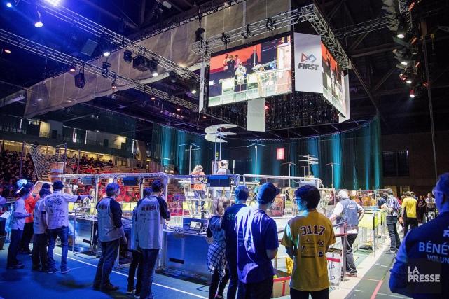 La 6e édition du Festival de robotique, qui... (Photo Alain Roberge, archives La Presse)