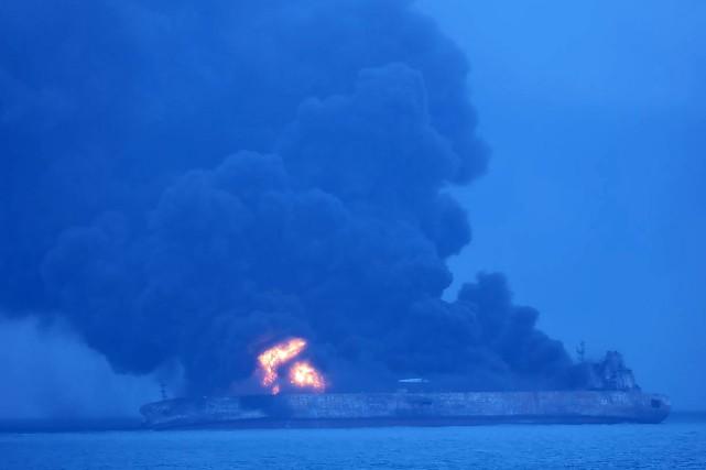 L'accident est intervenu à environ 160milles nautiques (300... (Photo Agence France-Presse/Garde côtière coréenne)
