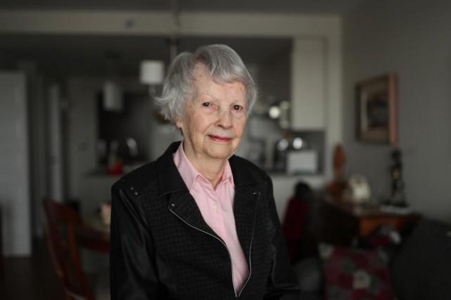 Fleurette Bilodeau, 87 ans, a passé sa vie... (PHOTO Martin Chamberland, Archives LA PRESSE)
