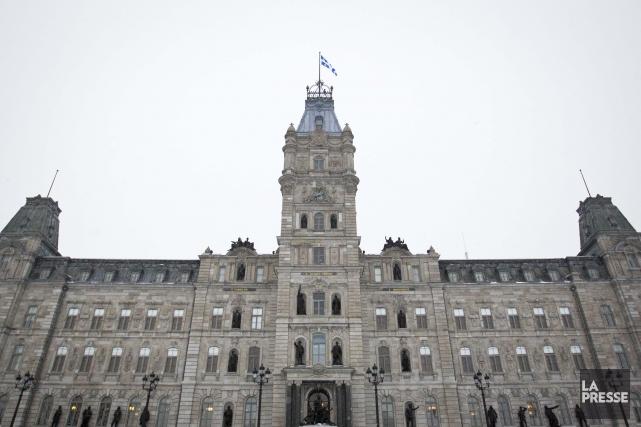 L'Assemblée nationale, à Québec.... (PHOTO IVANOH DEMERS, LA PRESSE)