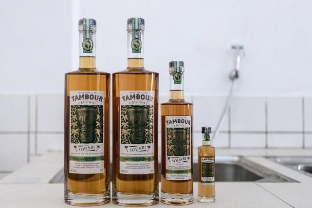 Le sodabi est une liqueur artisanale obtenue à... (Photo AFP)