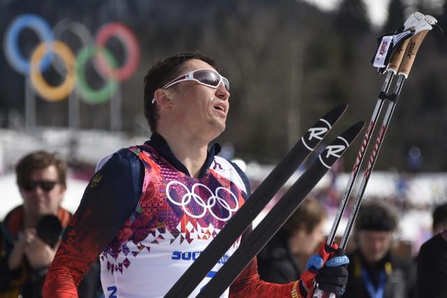 Le fondeur russeAlexander Legkov avait remporté l'or au... (Photo Odd Andersen, archives AFP)