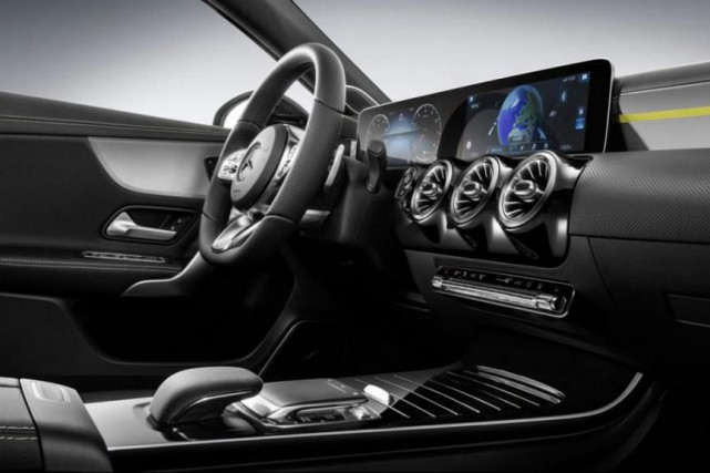 Vue du MBUX, le système audio automobile à... (Photo fournie par Mercedes-Benz)