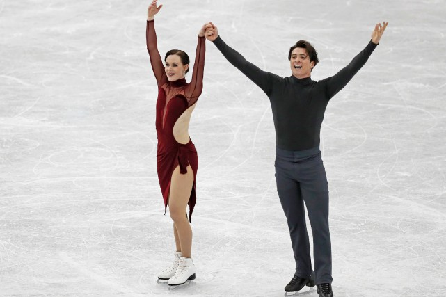 Tessa Virtue et Scott Moir.... (Photo Issei Kato, archives REUTERS)
