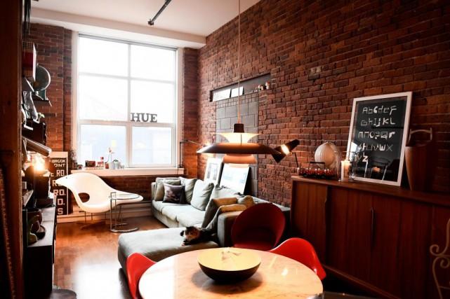Le loft de Stéphane St-Arnaud, propriétaire du magasin... (PHOTO BERNARD BRAULT, LA PRESSE)