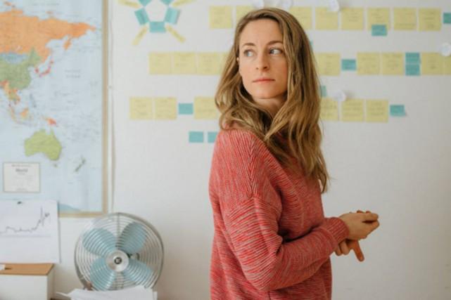 Christine Beaulieu dans J'aime Hydro... (Photo fournie par Productions Porte parole)