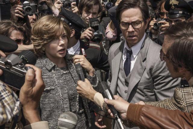 Michelle Williams et Mark Wahlberg dans une scène... (PHOTO AP)