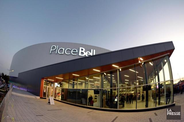 La Place Bell, à Laval... (Photo BernardBrault, Archives La Presse)