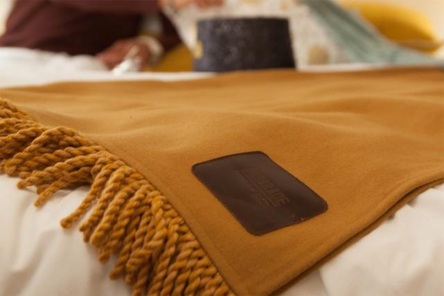 Geneviève Lorange aime travailler avec la laine, une... (Photo fournie par Bigarade)