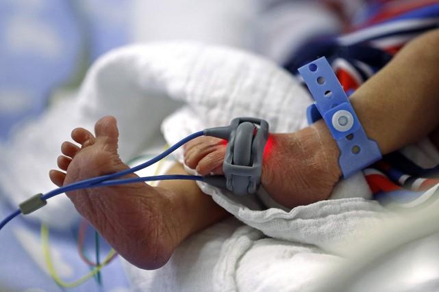 En 2016-2017, environ 1850 bébés sont nés après... (Yves Herman, ARCHIVES REUTERS)